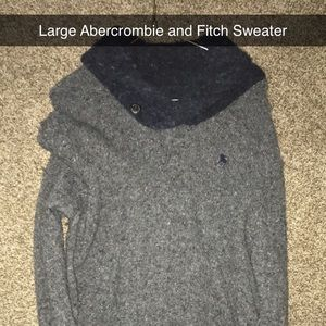 Large Abercrombie and Fitch Sweater